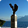 The Jan Palach Memorial on Lake Geneva (Source: Panoramatio)